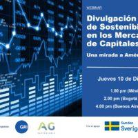 Seminario Web 10/12- Divulgación ASG en los mercados de capitales en Latam