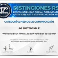 """Hemos Sidos Distinguidos por RSC Comunicativa con Nuestro Programa """"Promoviendo la Transparencia y la Rendición de Cuentas – AG Lab"""""""